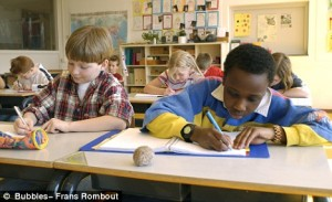 Institutionalized racism in education is rampant. Photo Credit: dailymail.co.uk