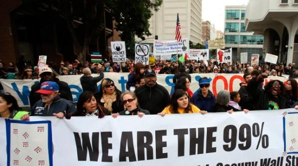 Occupy Movements Cut Across Race