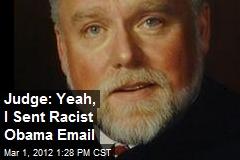 A federal judge and professor promote racism. Photo Credit; newser.com