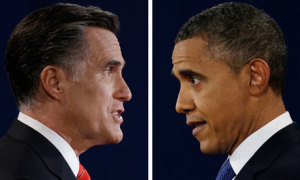 Who is most qualified, Obama or Romney. Photo Credit: theguardian.com