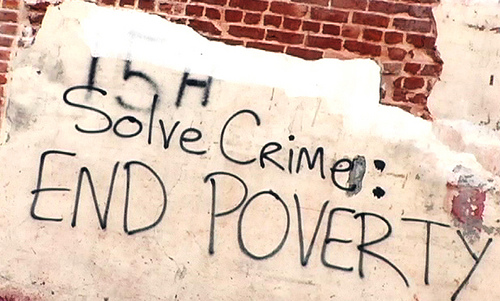 poverty and crime essay thesis