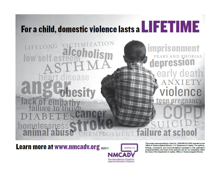 the effects of domestic violence and child abuse on the society Read chapter 6 consequences of child abuse and neglect:  effects of witnessing domestic violence  monographs for society of research in child.