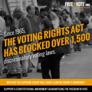 Supreme Court On Voting Rights