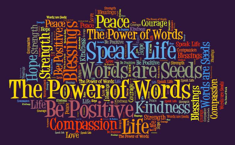 Kết quả hình ảnh cho POWER OF WORDS