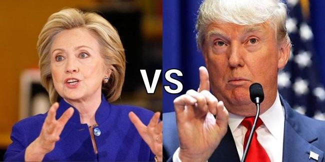 Hillary Clinton or Donald Trump