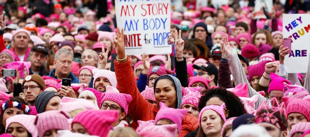 women are mobilizing to gain dignity and respect
