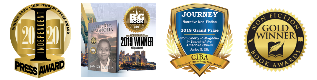 Janice S. Ellis' Book Awards
